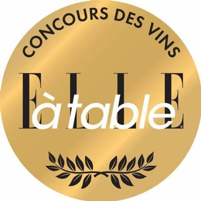 GOLD MEDAILS FOR AOP BELLET BLANC 2018 - ELLE A TABLE COMPETITION